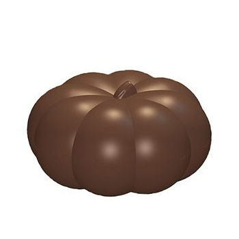 Chocolate Pumpkin Polycarbonate Mold - 35x30.6mm - 9+9 - 275x175x24
