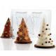 Polycarbonate TREESMAS Chocolate Mold - 75x120mm cavities - 45gr - 275x175mm