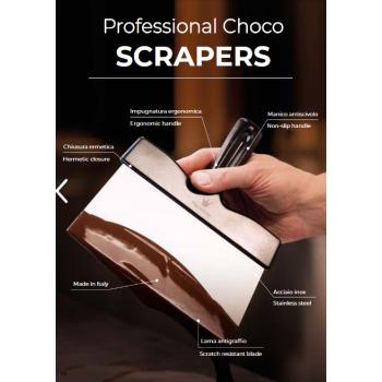 Martellato Large Chocolate Scraper - 180x200mm