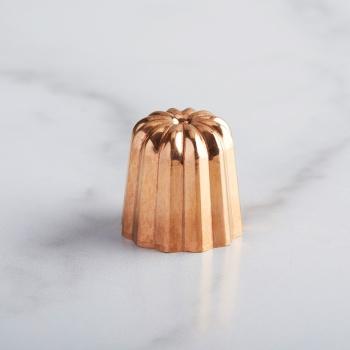 Copper Canele Mold - 3.5 cm