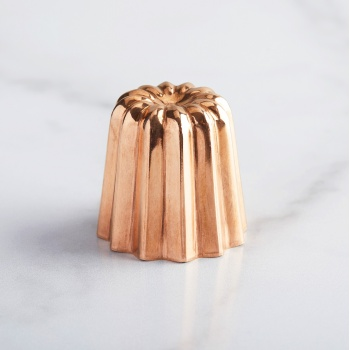 Copper Canele Mold - 4.5 cm