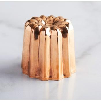 Copper Canele Mold - 5.5 cm