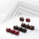 Polycarbonate Modern Bon Snack Bar Chocolate Mold - 86.6x31.6x18mm - 34.5gr - 8pcs