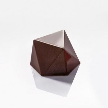 Polycarbonate Modern Bon Praline Chocolate Mold - 27x31x18mm - 9.5gr - 28pcs