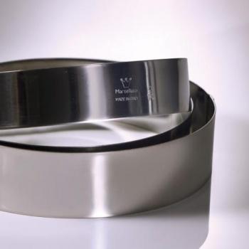 Stainless Steel Cake Ring - Circle -  20x2.5cm