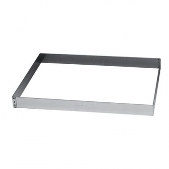 Stainless Steel Rectangular Pastry Frame 380x580x50mm