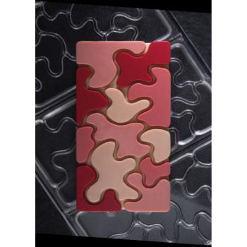 Polycarbonate Chocolate Bar Mold CHOCO BAR CAMOUFLAGE by Fabrizio Fiorani