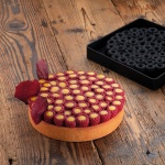 Pavoni Silicone Top Decoration Molds for Entremets - SCARLET - By Stefano Laghi & Sebastiano Caridi