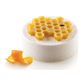 Silikomart Professional Silicone Miel 18 Textured Decoration Mat