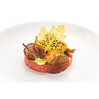 Silikomart Professional Bosco 21 Leaves Mold - Inspiration by Chef Andrea Valentinetti