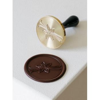 Martellato small VANILLA Stamp Chocolate Decoration Tool by Frank Haasnoot - 3cm