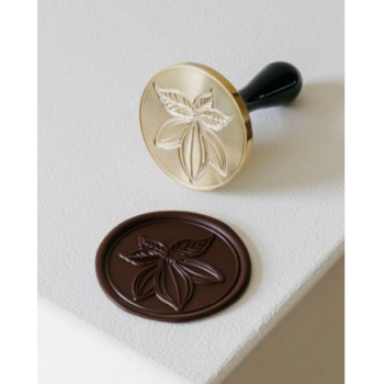 Martellato Large CACAO Stamp Chocolate Decoration Tool by Frank Haasnoot - 6cm