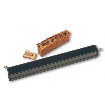 Matfer Bourgeat EXOPAN® Mini Pate Mold - 19 3/4''x 1 9/16''x 2 3/8'' - 1Lb 11oz.
