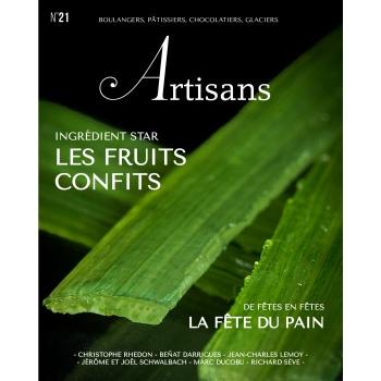 ARTISANS n°21 Boulangers, pâtissiers, chocolatiers, glaciers - Stephane Glacier - French