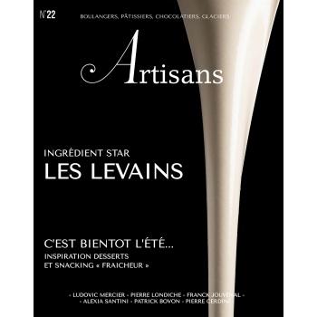 ARTISANS n°22 Boulangers, pâtissiers, chocolatiers, glaciers - Stephane Glacier - French