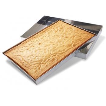 Matfer Bourgeat Matfer Bourgeat Stainless Steel Sponge Cake Pan, 23 1/4″x15 1/4″