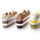 Plastic Eclair Ice Cream Cups 137 x 37x41 mmm - 120 ml - Pacl of 100