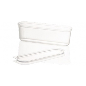 Lid forPlastic Eclair Ice Cream Cups - Pack of 100