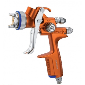 SATAjet 1000 B HVLP Air Brush by SATA - Stainless Steel Spray Gun for cocoa butter and chocolate decor