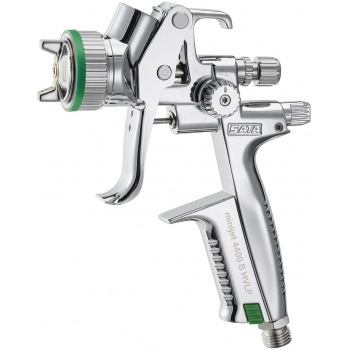 SATAminijet 4400 B HVLP Air Brush by SATA - Stainless Steel Spray Gun for cocoa butter and chocolate decor