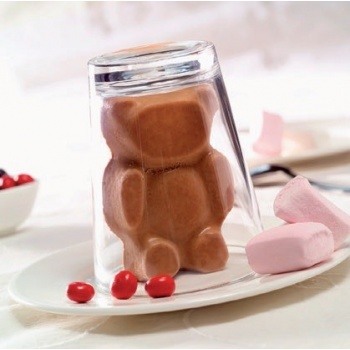 "Flexipan - Teddy Bears   2.18"" x 3.5"" (55 x 90 mm) - 18"" x 26"" (400 x 600 mm)  - 18 indents - FP 1056"