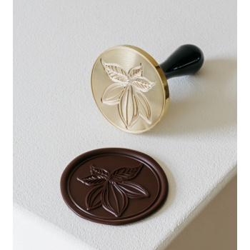 Martellato Small CACAO Stamp Chocolate Decoration Tool by Frank Haasnoot - 3cm