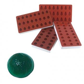 Martellato Jellies Half Sphere Jelly Mold - 27x13.5mm - makes 24 pcs