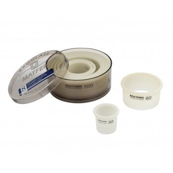 Matfer Bourgeat EXOGLASS® set of Pastry Round Cutter  - 8 pcs -
