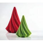 Pavoni Thermoformed Mold - MINI TWIRL - Christmas Trees 112x150mm  - 110g