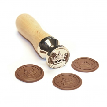 Crown Stamp for Chocolate