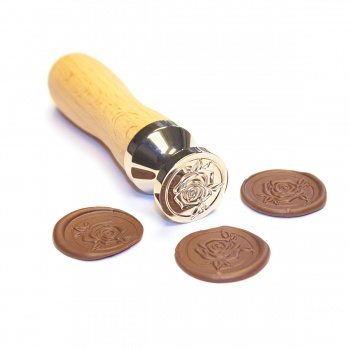 Rose Stamp for Chocolate