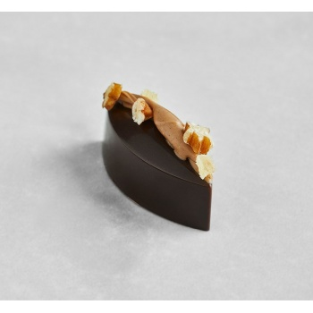 Polycarbonate Praline Calisson Chocolate Mold by Martin Diez - 42.5x17x15mm -7.6gr - 3 x 8 cavity