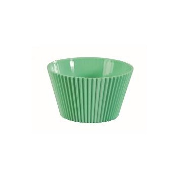 Plastic Disposable Gelato Cup - Green - 70ml - Pack of 100