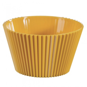 Plastic Disposable Gelato Cup - Yellow - 70ml - Pack of 100
