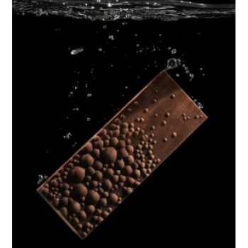 Polycarbonate Air Bubbles Chocolate Tablet Bar by Seb Pettersson- 150x56.5x11mm - 83.5gr - 1 x 4 cavity