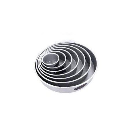 "Round cake pan solid bottom 18""x2"""