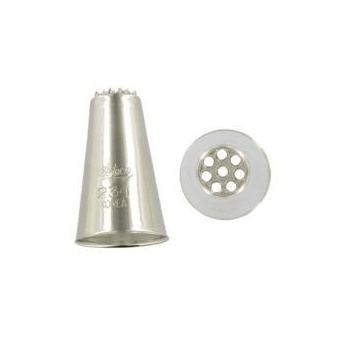 Ateco 234 - Vermicelli Pastry Tip- Stainless Steel