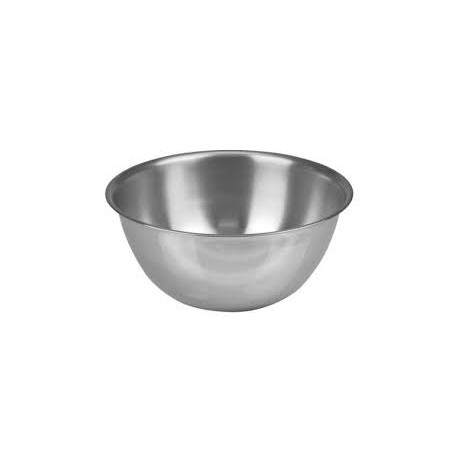 Stainless Steel Deep Mixing Bowls 10.75Qt Capacity