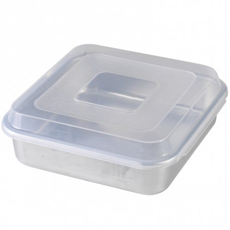 "Nordic Ware 9"" Square Cake Pan with Lid - 45803"