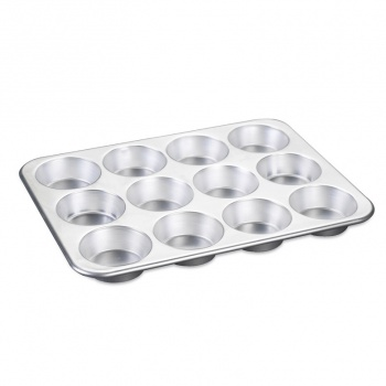 Nordic Ware 12 Cavity Muffin Pan Seamless