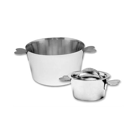 """Matfer Bourgeat Charlotte Molds Stainless Steel with Lid 2 3/4"""""""