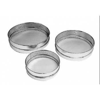 "Matfer Bourgeat Set Of 3 Sieves Metal Mesh (7"", 8"" And 10"")"