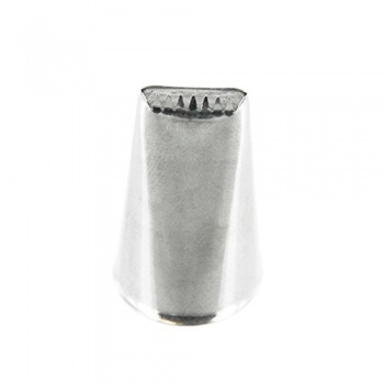Ateco 48 - Ribbon Pastry Tip - Stainless Steel