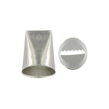 Ateco 898 - Ribbon Pastry Tip - Stainless Steel