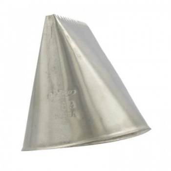 Ateco 789 - Ribbon Pastry Tip - Stainless Steel