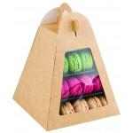 Box for Macarons Mini Pyramid Display