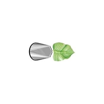 Ateco 112 - Leaves Pastry Tip - Stainless Steel