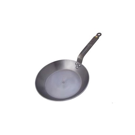 De Buyer 5610.32A De Buyer Round Iron Frypan Mineral B Element - Ø ...