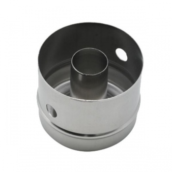 "Stainless Steel Heavy Duty 3"" X 2-1/2"" Deep Doughnut Cutter"