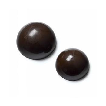 Cocoa Barry Polycarbonate Chocolate Hemisphere Mold - Ø 3cm - 2x 9gr - 1.25'' - 24 Cavity